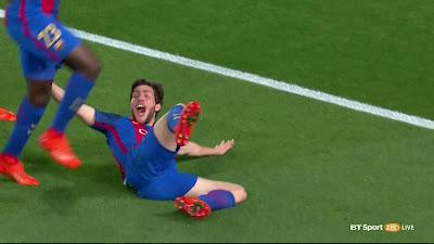 UEFA-16 Barcelona 6 vs 1 PSG 08-03-2017