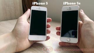 Perbedaan iPhone 5G dan 5S