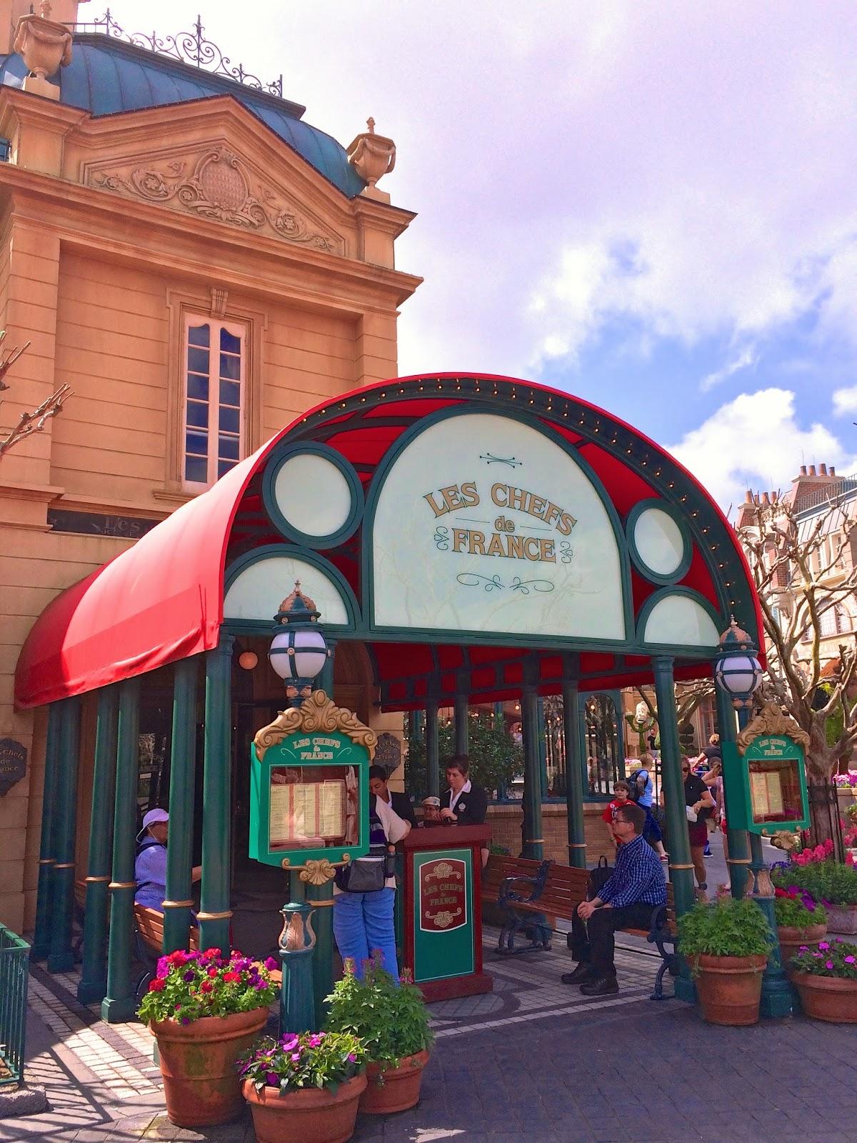 Les Chefs De France - Epcot - Walt Disney World