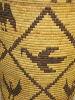 Tohono O'ogham basket, art conservation, archival support, museum collection care