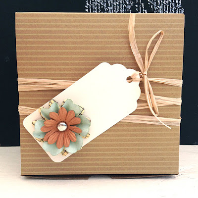 Easy DIY Flower Gift tags!