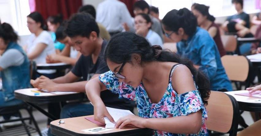 UNMSM: Más de 12 mil postulantes rinde hoy el Examen de Admisión 2019-II a la Universidad San Marcos - www.unmsm.edu.pe