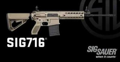 SIG 716 Assault Rifles