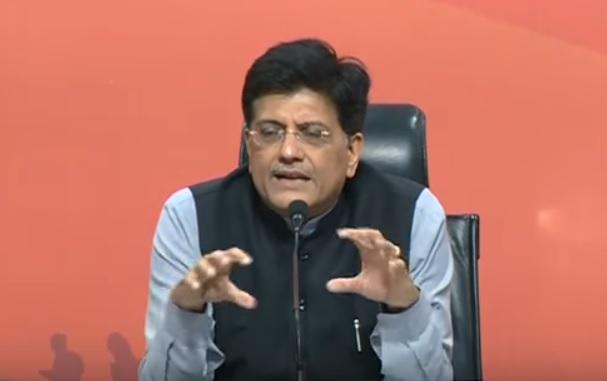 बेईमानों के आएंगे बुरे दिन, BJP का कार्यकर्ता भी बन सकता है CM, PM, गोयल