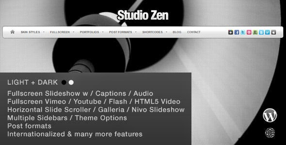 studio-zensingle-page-Theme