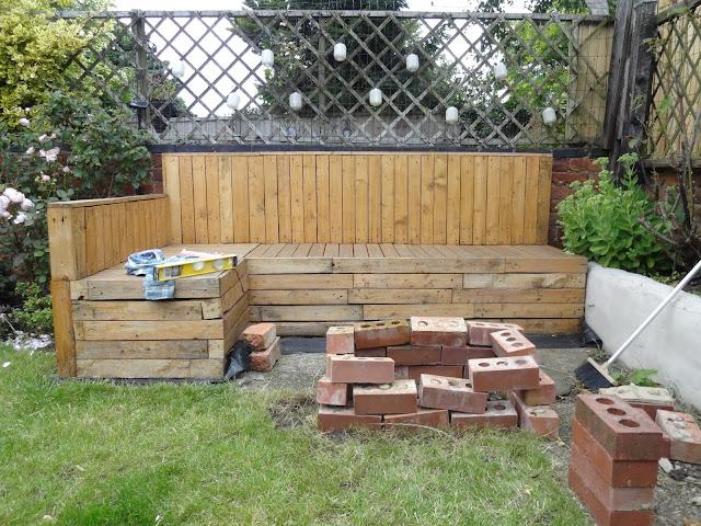 building a brick firepit