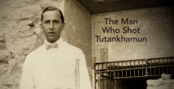 The Man Who Shot Tutankhamun cover