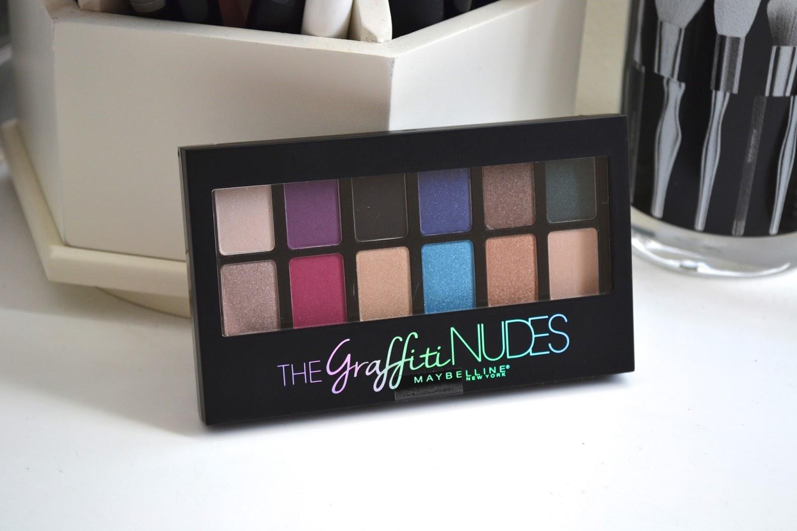 Maybelline® New York The Graffiti Nudes Eyeshadow Palette