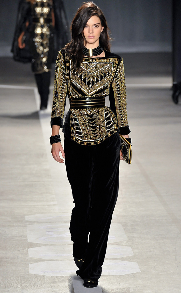 Kendall Jenner Steals the Show at Balmain for H&M's Runway Presentation