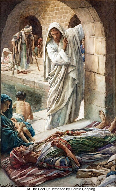 Emmaus Road Ministries The Pool Of Bethesda