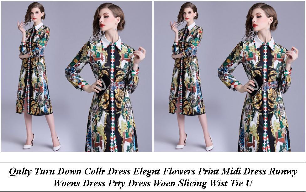Womens Short Evening Dresses - All Saints In Store Sale - Lue Lack Gold White Dress Original Picture