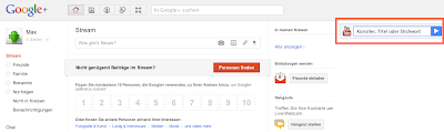 Google+ Stream - neue Funktion: YouTube