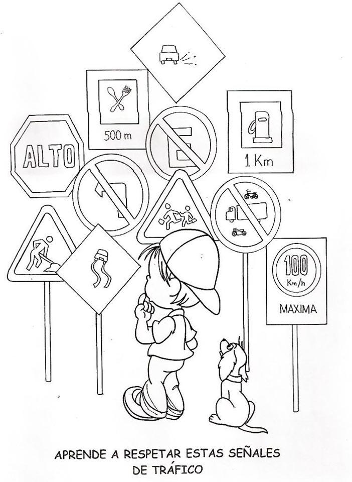 señales de tránsito