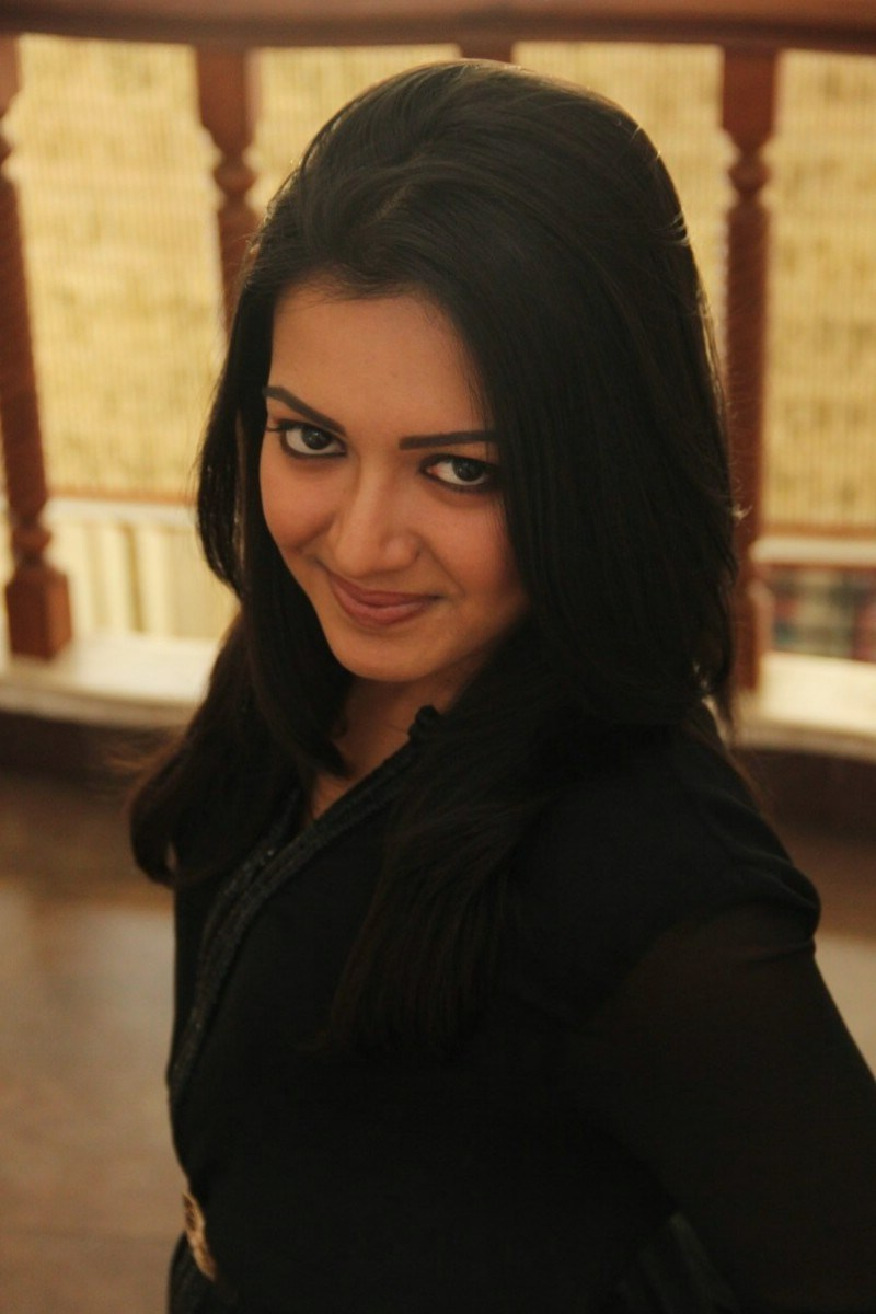 Actress Catherine Tresa Latest Photos In Black Dress