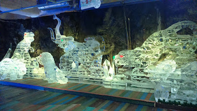 Jeju Ice Sculptures