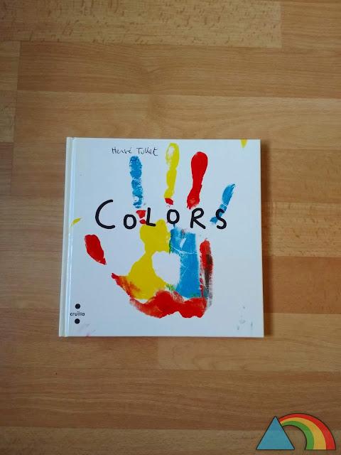 """Portada del libro """"Colores"""" de Hevé Tullet"""