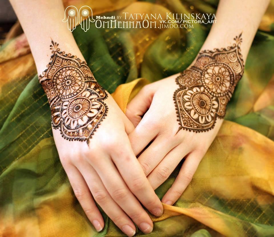 Mehndi Designs For Hands Tikki : Most simple and beautiful mehndi tiki design pakistani