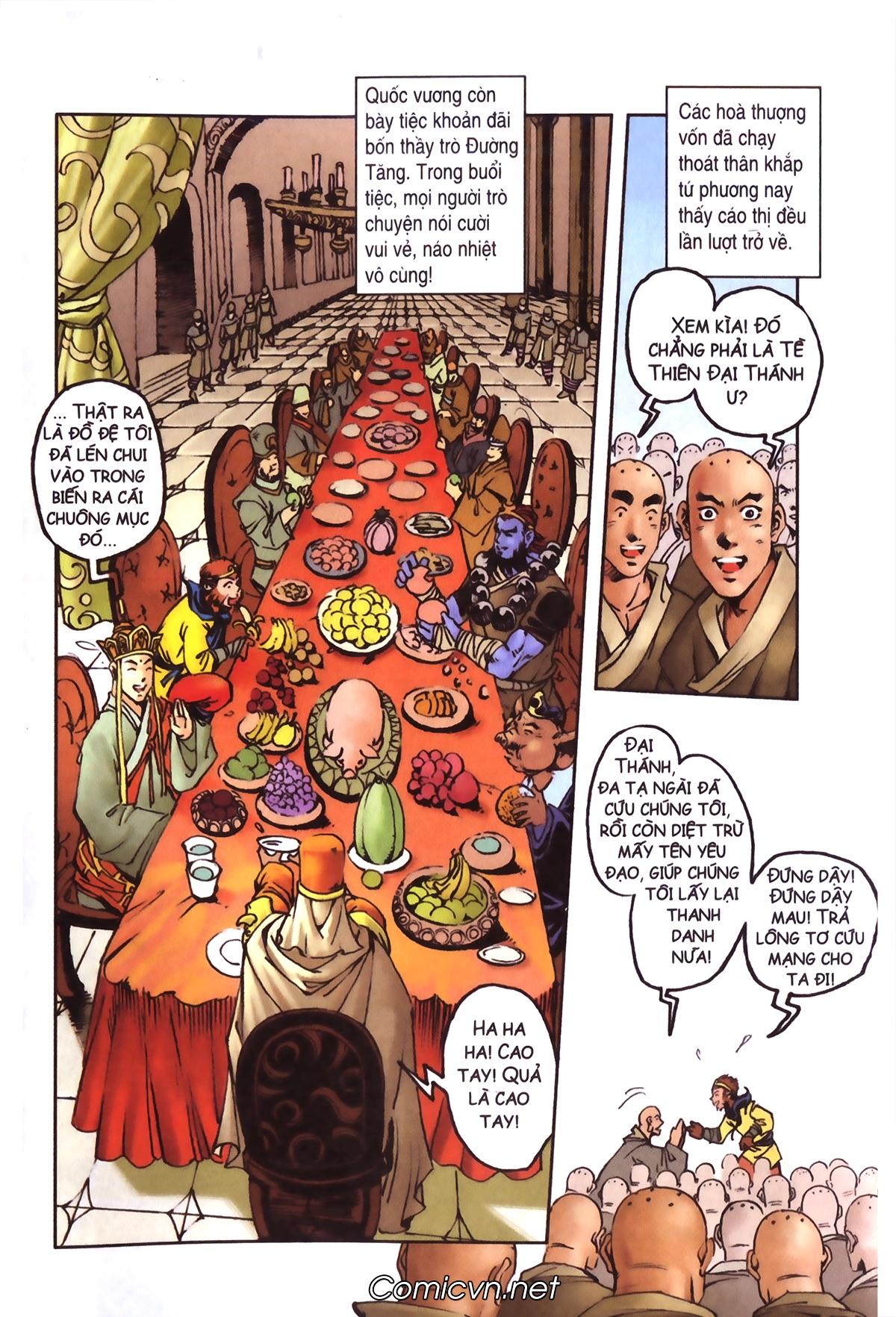 Tây Du Ký màu - Chapter 90 - Pic 11