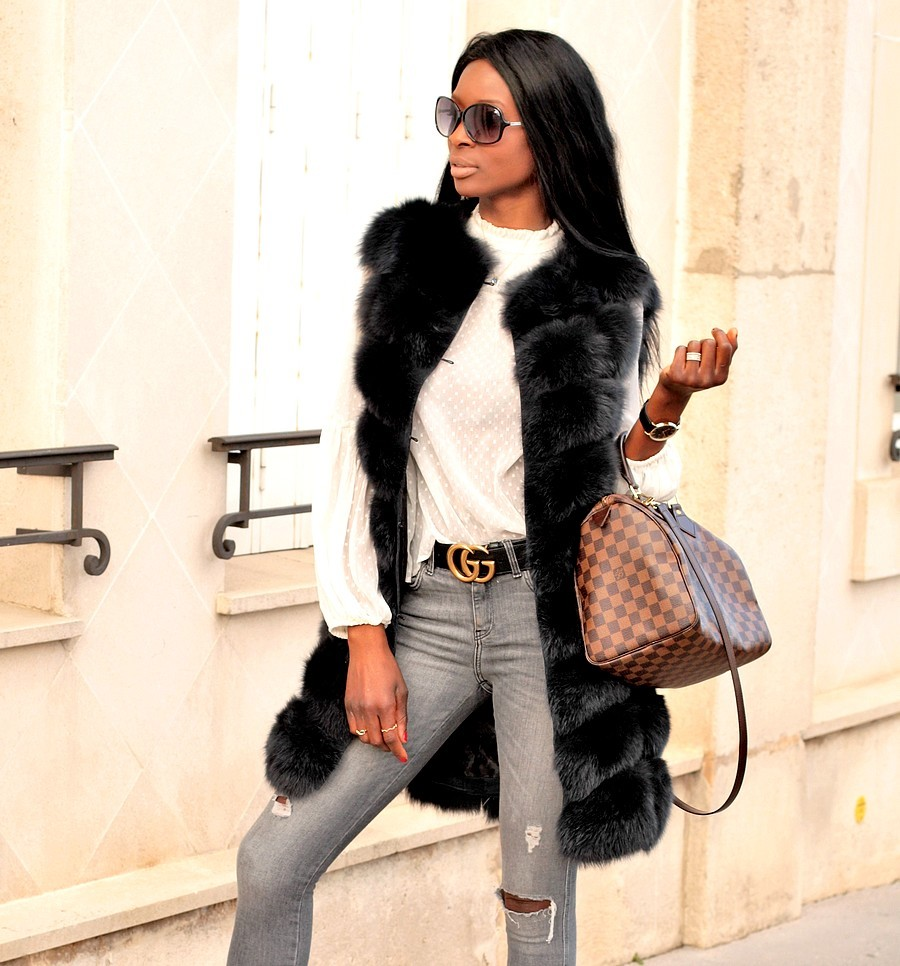 gilet-fourrure-sac-speedy-louis-vuitton-