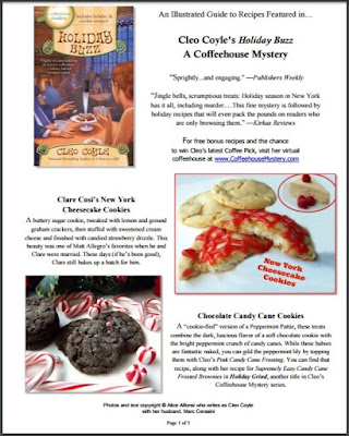 Holiday buzz recipe guide cleo coyle pdf coverg forumfinder Choice Image