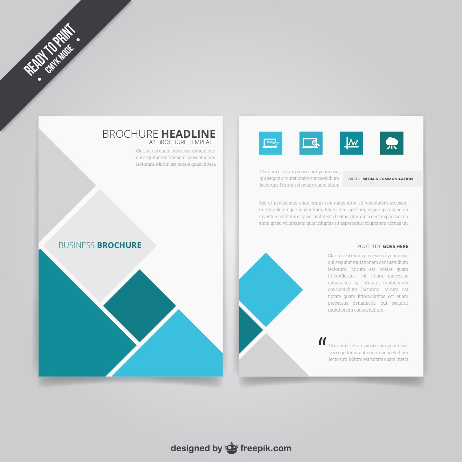 Wartechglobal template brosur corel draw super keren for Coreldraw brochure templates