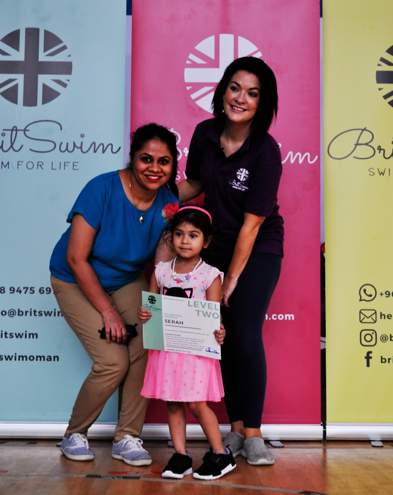 Oman learn to swim BritSwim Muscat