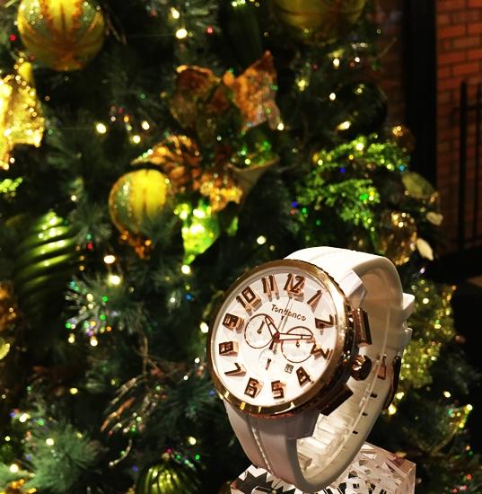 ウォッチ 腕時計 TENDENCE テンデンス ガリバー 12月号 VERY ベリー 優木まおみ クリスマスツリー