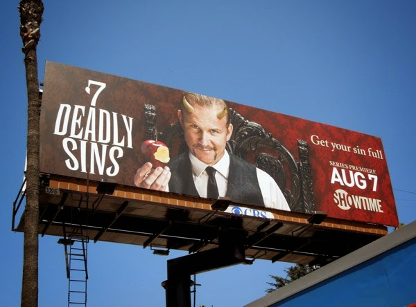 7 Deadly Sins series premiere billboard