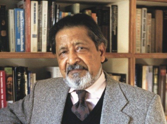 V.S. Naipaul 85, departs with his bluntness