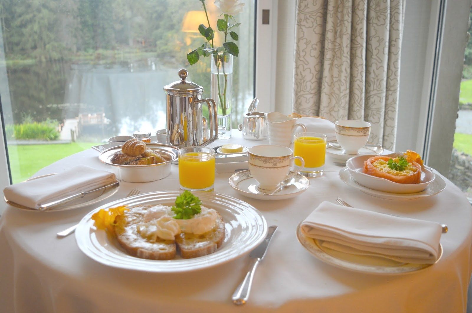 Minimoon at the Gilpin Hotel and Lakehouse Windermere - Breakfast