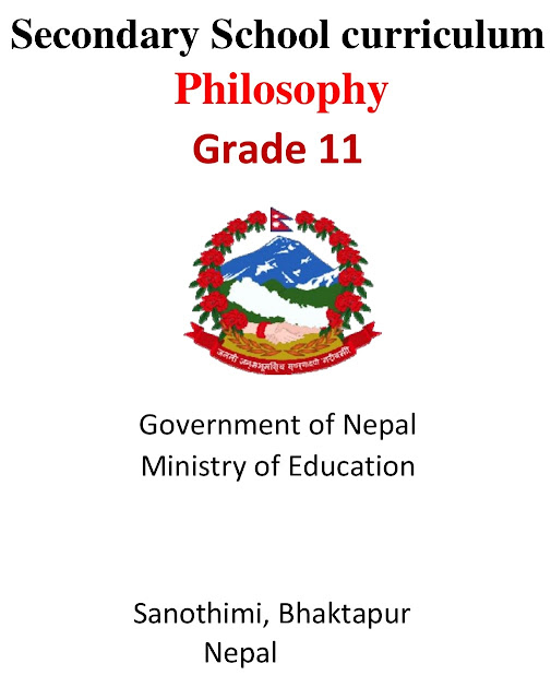 Grade XI NEB Syllabus - Philosophy