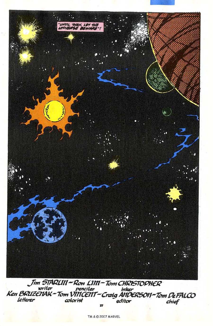 Read online Silver Surfer (1987) comic -  Issue #35 - 29