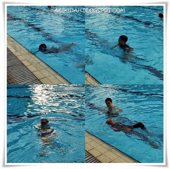 Kids Enjoy Swimming
