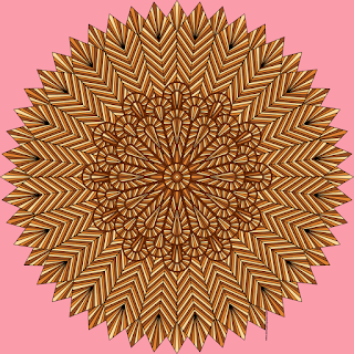 Feathers coloring page for adults #coloring #mandala