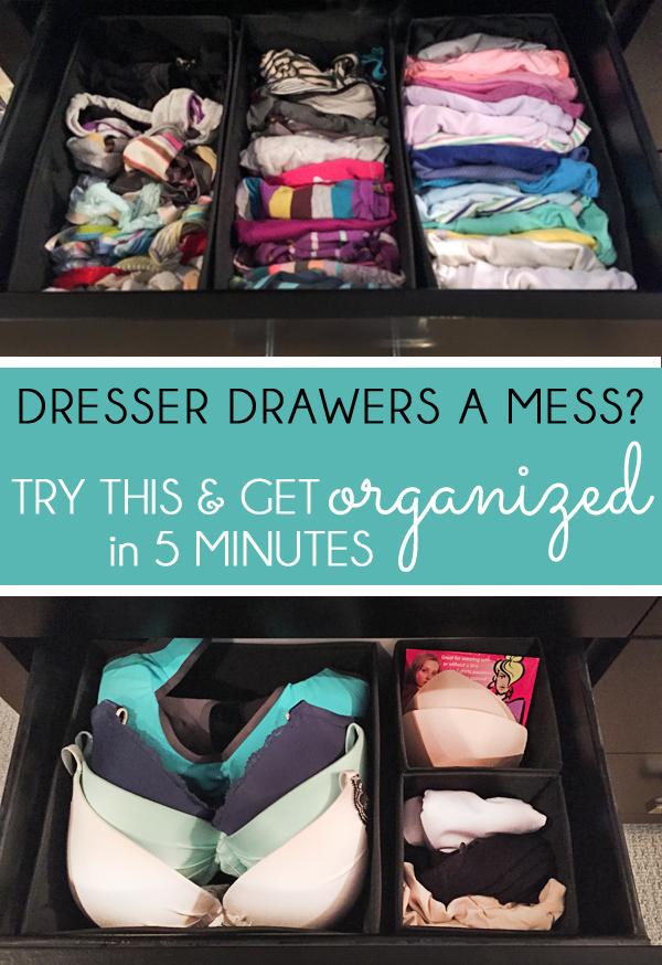 Dresser Organizer