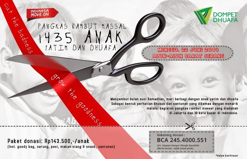 #Acara Sambut Ramadhan 1435 H Dengan Bercukur - KotaSerang.Com