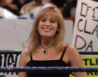 WWE / WWF Wrestlemania 2000 - Lillian Garcia sang the American national anthem