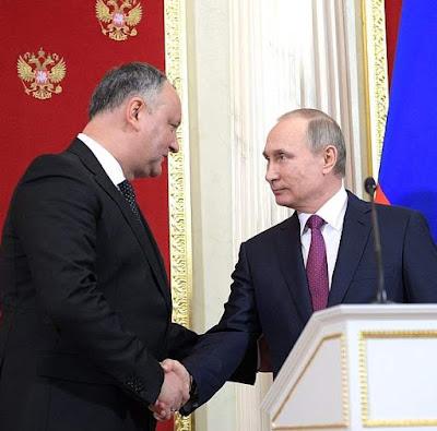 Vladimir Putin, Igor Dodon, Kremlin.