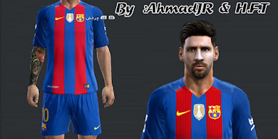PES 2013 Messi Face (Copa America 2016) By AhmadJR & H.F.T