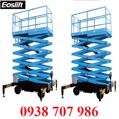thang nâng eolift, thang nâng 12m, thang nâng 9m, thâng 15m, thang nâng 150kg