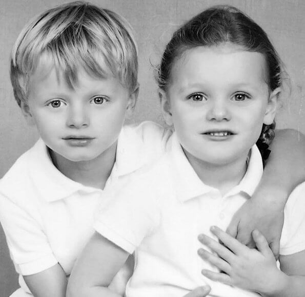 Princess Charlene shared photos of her twins Princess Gabriella and Prince Jacques