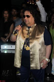 Gracy Singh and Bappi Lahiri   Blue Mountain Music Launch IMG 0734.JPG