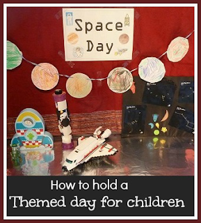 How to hold a themed day for children