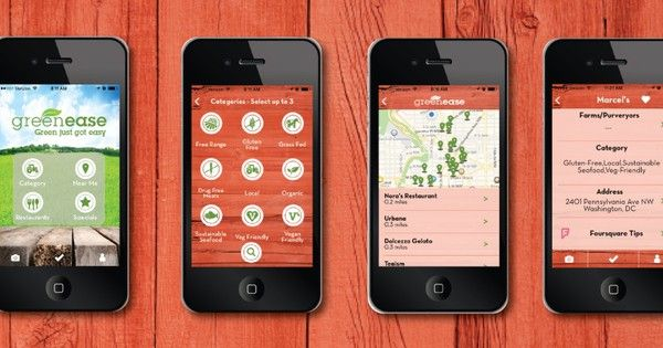 PHONE APP Greenease App Nationwide Launch FarmtoTable Dining - Farm to table app