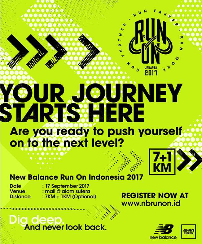 New Balance Run On Race - Indonesia • 2017