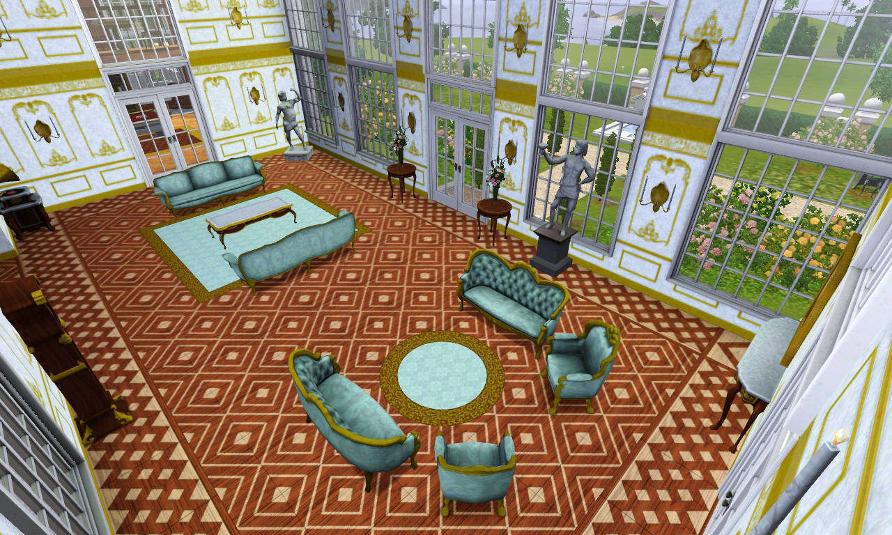 My Sims 3 Blog Versaillesque A Summer Palace By Gogolinopz
