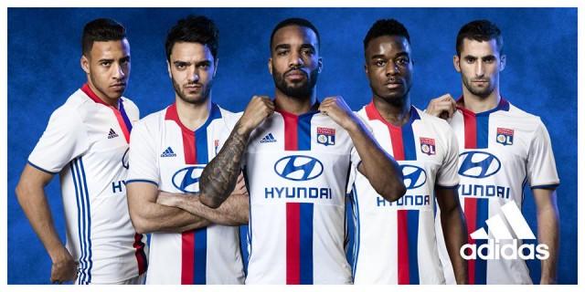 c43d9a445deac Camisas do Lyon para a temporada 2016-17