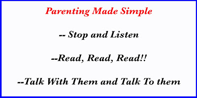 Simple things to do as a parent