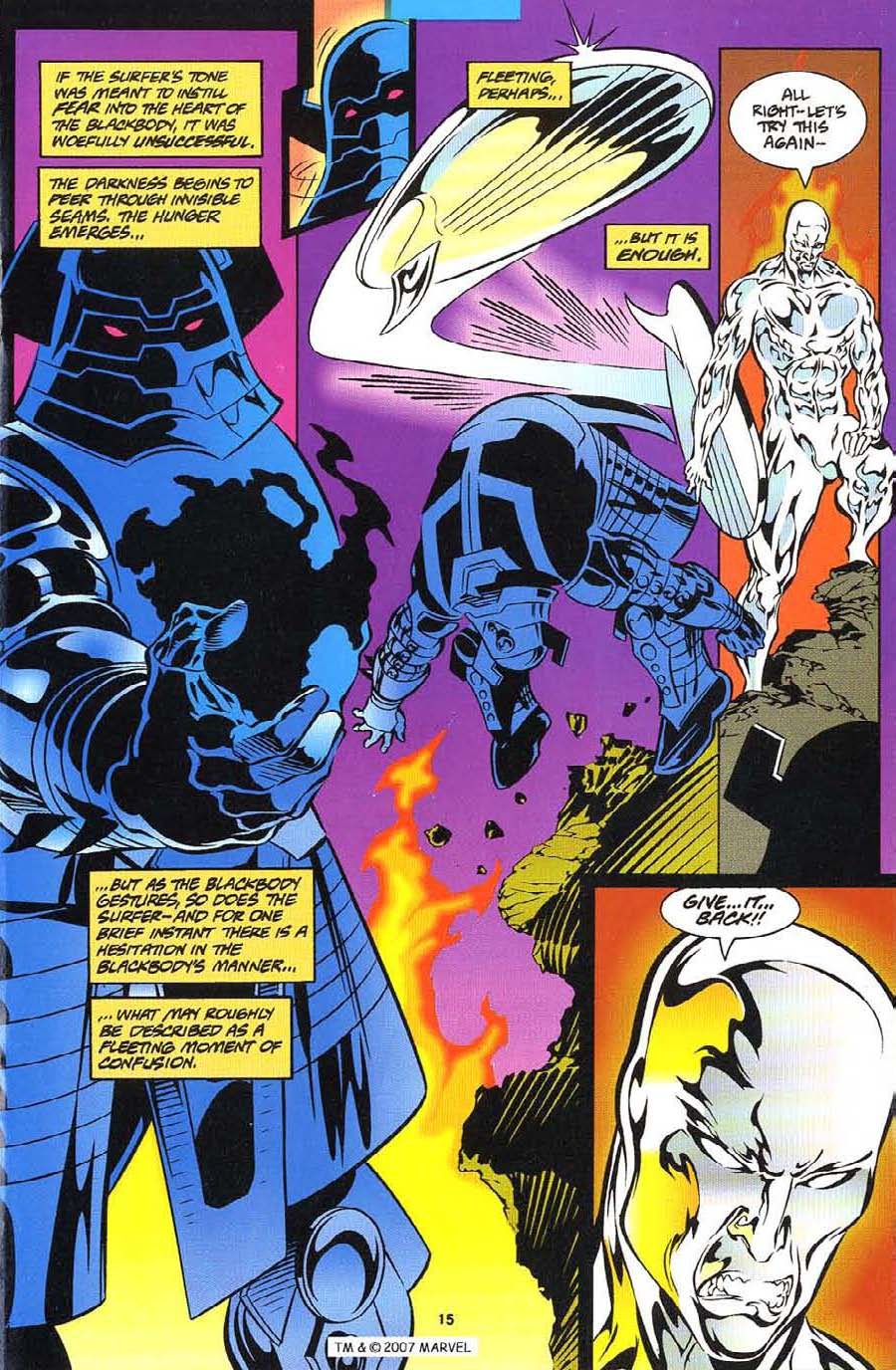 Silver Surfer (1987) Issue #113 #121 - English 17