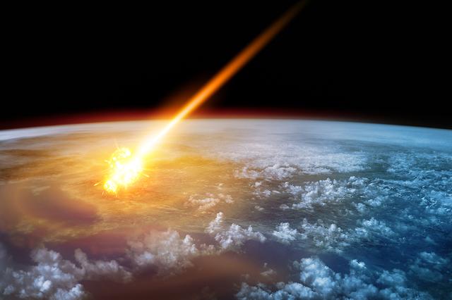 Simulação de impacto de asteroides da NASA é assustadora (Imagem: Reprodução)